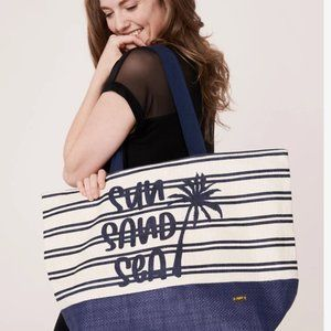Pretty and practical tote bag, vacation fun!